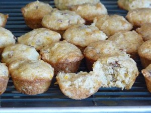 Orange Pineapple Muffins