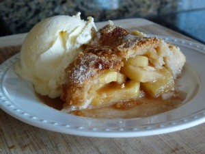 Apple Pie A-la Mode