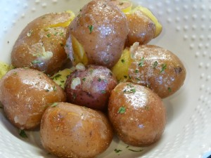 English Herbed Boiled Potatoes