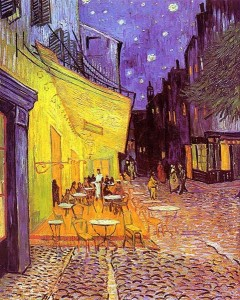 Cafe Terrace at Night (1888)