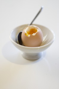 Soft boiled egg tips