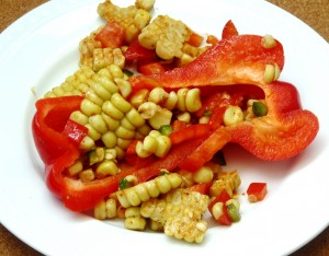 Barbecued Corn Relish