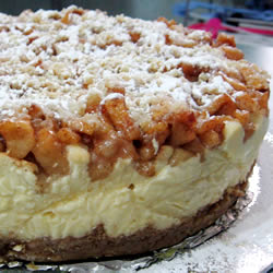 ... apple almond cheesecake photo almond cheesecake apple bars an apple