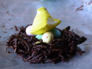 Springtime Chocolate Nests