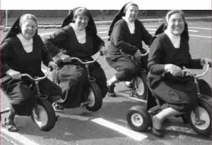 Nuns Having Fun by Maureen Kelly and Jeffrey Stone