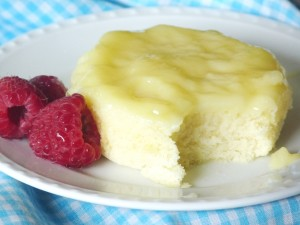 Lemon Sponge Puddings